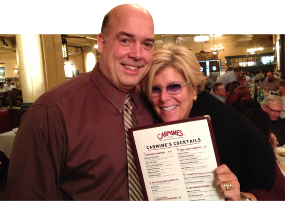 Suze Orman celebrates her 12th year with CNBC at Carmine's