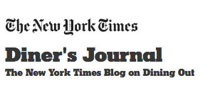 The NY Times Diner's Journal Logo