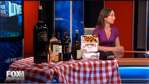 Wine with Me on Fox 5 news