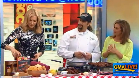Virgil's Real BBQ on GMA Live